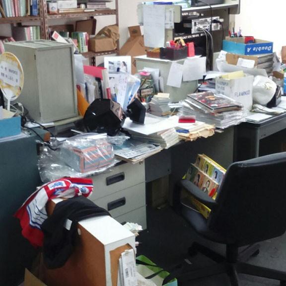 辦公室  清場